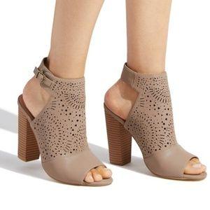NEW Shoedazzle Abby Heel Booties